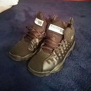 Shoes - Jordans black Team Jordans